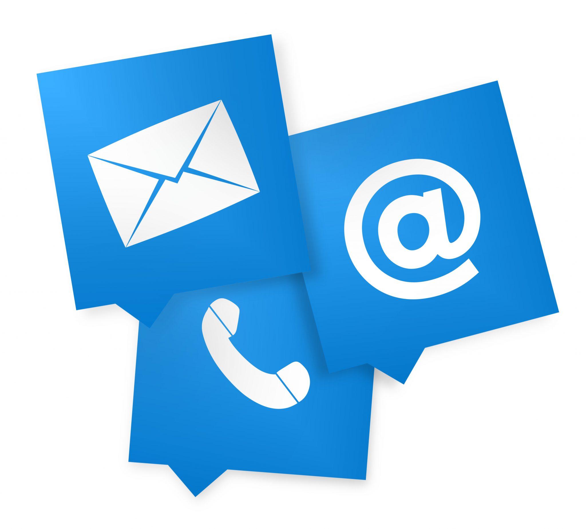 Contact en mailadressen