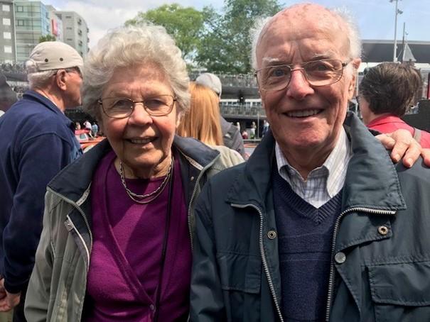 NKV feliciteert dhr. W. v.d. Krol met zijn 60-jarig huwelijk